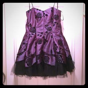 Short plus size cocktail dress