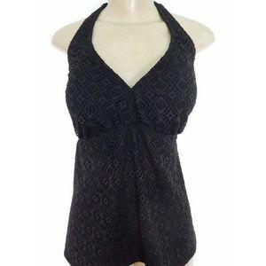 Catalina Swim - NWOT Catalina Crochet halter tie swimsuit top
