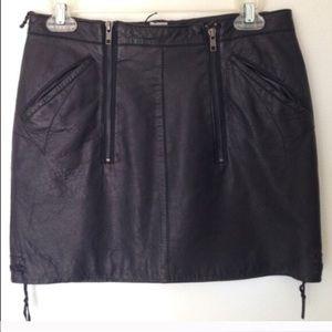 Charlotte Ronson Dresses & Skirts - Charlotte Ronson leather skirt
