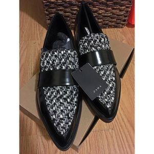 ZARA leather loafers😊