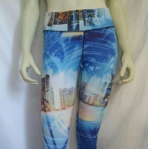 Awesome city lights workout leggings