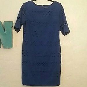 Gorgeous Cobalt Blue Jessica Howard Sheath Dress