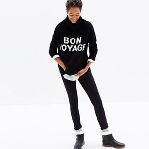 Madewell Bon Voyage Cowl Neck Pullover