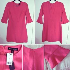 Banana Republic Dresses Pink Bell Sleeve Dress Poshmark