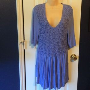 Soft surroundings size extra-large blue tunic top