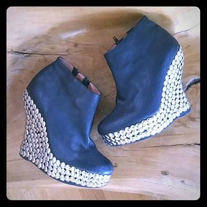 Jeffrey Campbell Ticket leather shoes