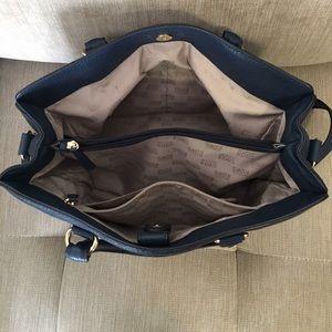 4b8c3ea3c81fc Michael Kors Accessories - Michael kors Hamilton Navy Blue Leather Purse