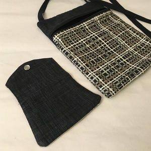 Cross Body Small Messenger Bag & Matching Wallet