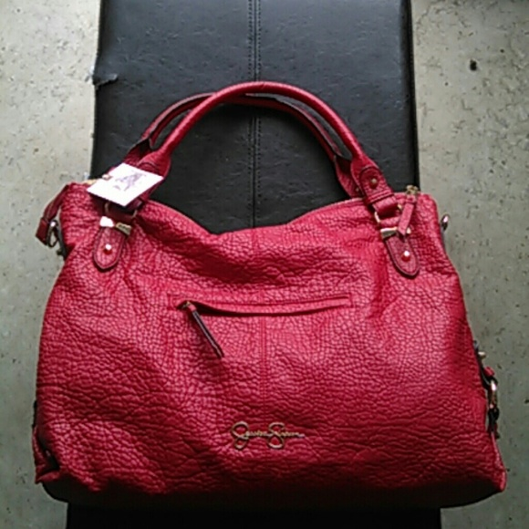 Jessica Simpson Bags   New With Tags Red Mara Purse   Poshmark 83c4750f3a
