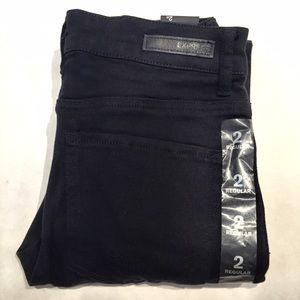 Express Denim - EXPRESS High Waisted Precision Fit Black Jegging
