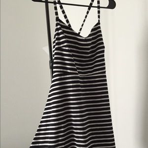 Medium spaghetti strap Old Navy knit sundress