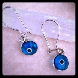 Jewelry - 💙SALE💙Nice Evil Eye Earrings