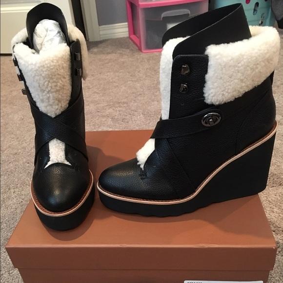 Coach Shoes | Coach Kenna Boots | Poshmark