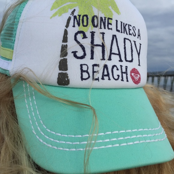 434a651fed Roxy Accessories | No One Likes A Shady Beach Snapback | Poshmark