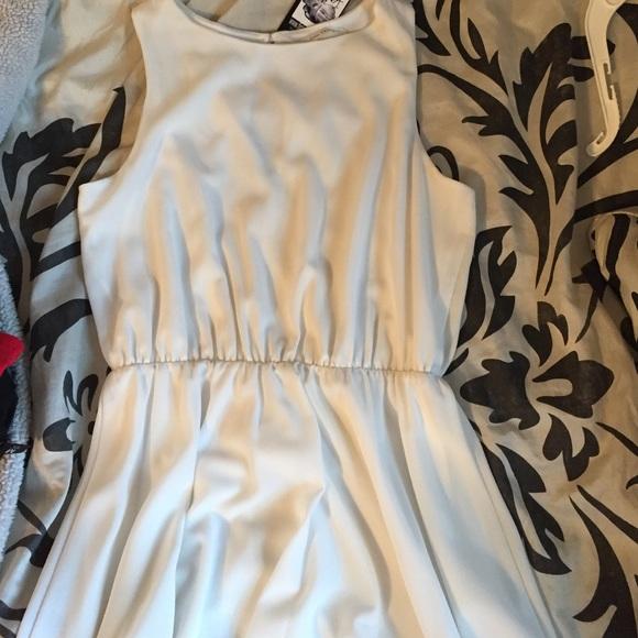 ac5cbf83161 Fancy white dress. NWT. Figleaf
