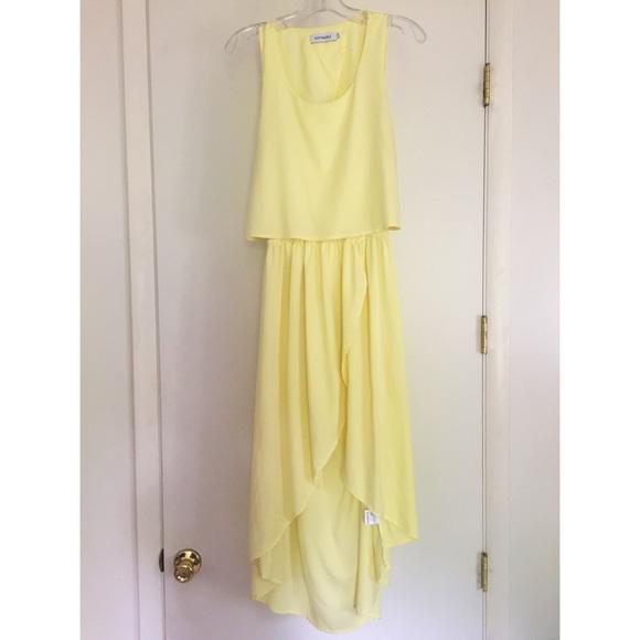 yellow dress size 8 8 8