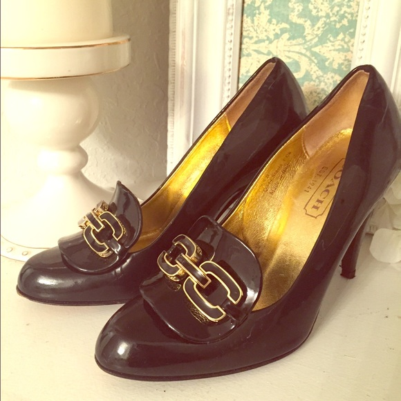 78 coach shoes coach patent leather heels from