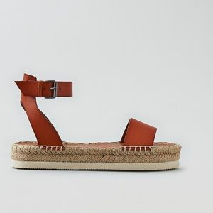 American Eagle Outfitters Shoes - Cognac Sandals