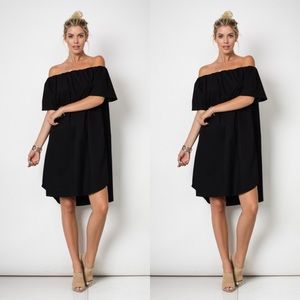 Dresses & Skirts - Off the Shoulder Midi