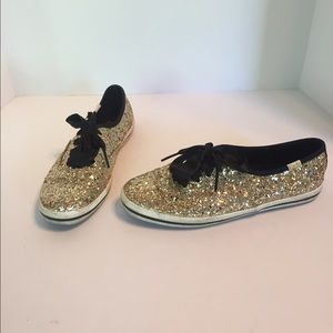 92111115f86 kate spade Shoes - Kate Spade Keds Champion Glitter Sneakers🎉HP🎉