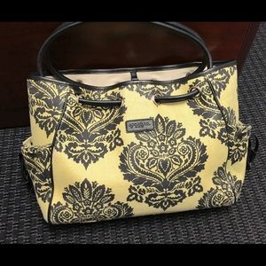 Spartina 449 Handbags - Large beige and black Spartina 449 tote