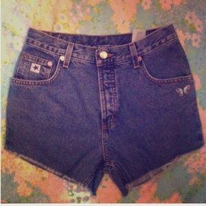 Pants - Vintage ROCKIES high-waisted shorts