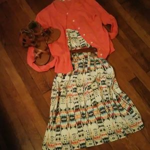 FUN OLD NAVY tribal print dress