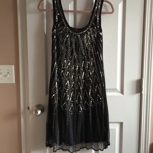 Angie Dresses & Skirts - NWOT beaded dress