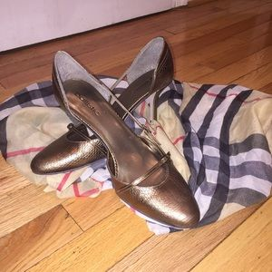 Shoes - Ballistic Bronze Pumps Sz 10