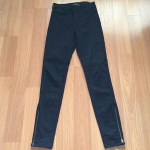 Maison scotch black/blue jean pants