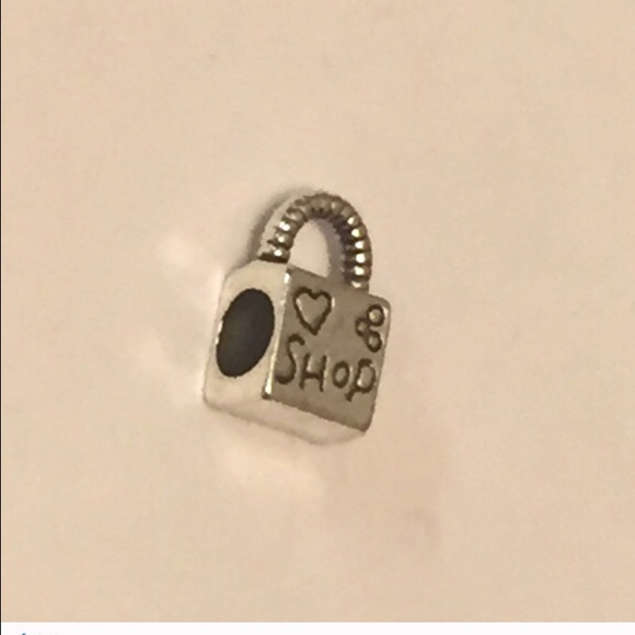 80 pandora jewelry nwt silver shopping bag bead