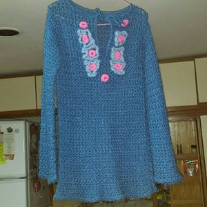 Tops - HIPPIE CROCHET BLOUSE