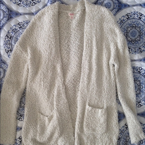 47% off Mossimo Supply Co. Sweaters - Very Soft, Fuzzy, White ...