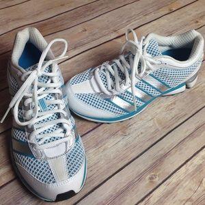 Adidas adizero running shoe.
