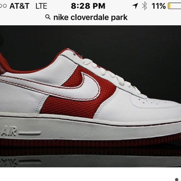 Nike Air Force 1 cloverdale park courts edition. M 572952cbc6c795abb4012255 829303f87