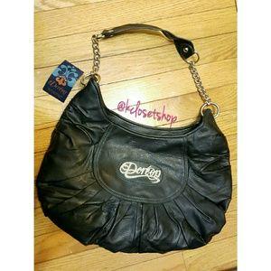 Dereon Handbags - $60✂👜 NWT  Deréon {SIGNATURE BLACK SHOULDER BAG}
