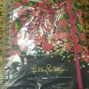 Lilly Pulitzer Accessories - Lilly Pulitzer planner 8/15 to 12/16. Wild confett