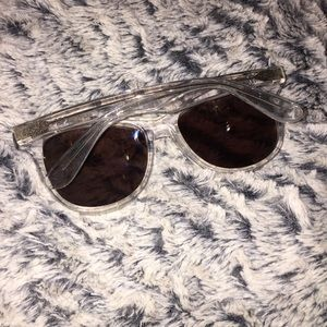 f4992331a615 ... CLEAR WILDFOX CATFARER SUNGLASSES WILDFOX Juliet Sunglasses (pink!