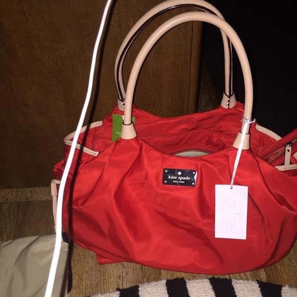 7d09b36f940e kate spade Bags   Stevie Modern Red Diaper Bag   Poshmark