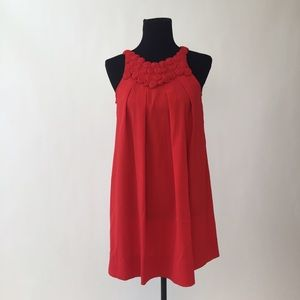 Forever 21 Dresses & Skirts - Elegant Red Trapeze Swing Dress