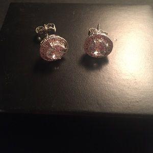 Jewelry - Cz round earrings