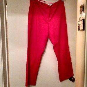 JCrew cropped dress pants