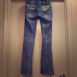 Miss Me Light Wash Boot Cut Jeans