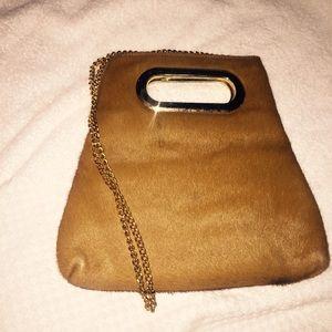 Handbags - Pony hair clutch purse