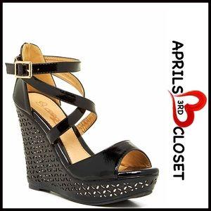Elegant Shoes - ❗1-HOUR SALE❗SANDALS Wedge Sandals High Heels