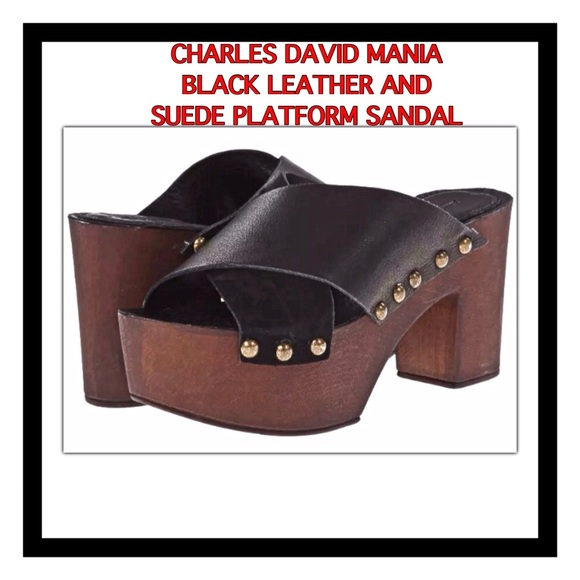 d43b9529c4c Charles David Mania Platform Sandal
