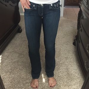 True Religion Billy style straight jeans