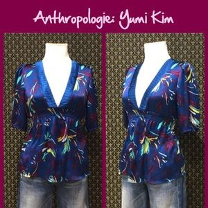 "Anthro ""Ink & Quill Blouse"" by Yumi Kim"