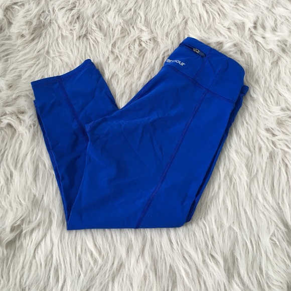 64% off Under Armour Pants - Royal Blue UA Workout Leggings from ...