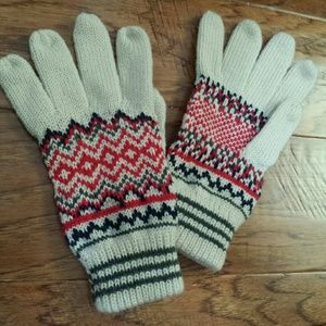 Cotton On knitted gloves
